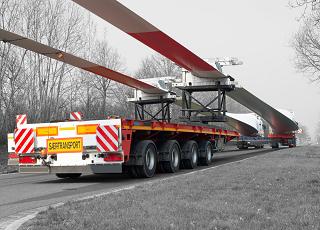 oversized cargo, bijzondere vracht, uitzonderlijk vrachtvervoer, grote vracht