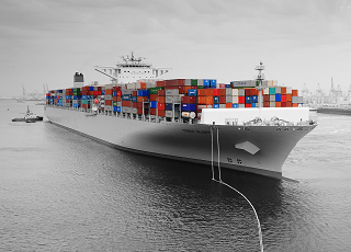 zeevracht, containervracht over zee, import en export over zee